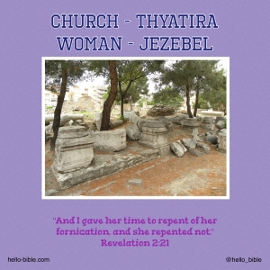 20. Church in Thyatira, who in the world is Jezebel? * Revelation 2:18-29, Part 2 of 3