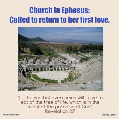 14. Church in Ephesus, starting down a dangerous road * Revelation 2:1-7, Part 2