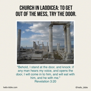 26. Church in Laodicea, reaching rock bottom * Revelation 3:14-22, Part 1 of 2
