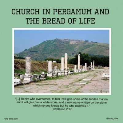 18. Church in Pergamum, called to eat the true food * Revelation 2:12-17, Part 2 of 2