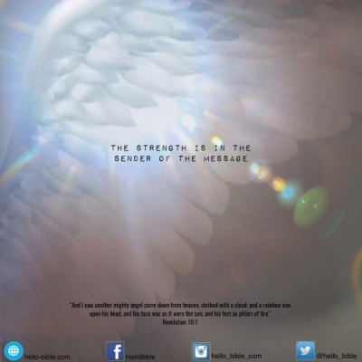 66. The little scroll: the strong angel * Revelation 10:1-7- Part 1 of 3