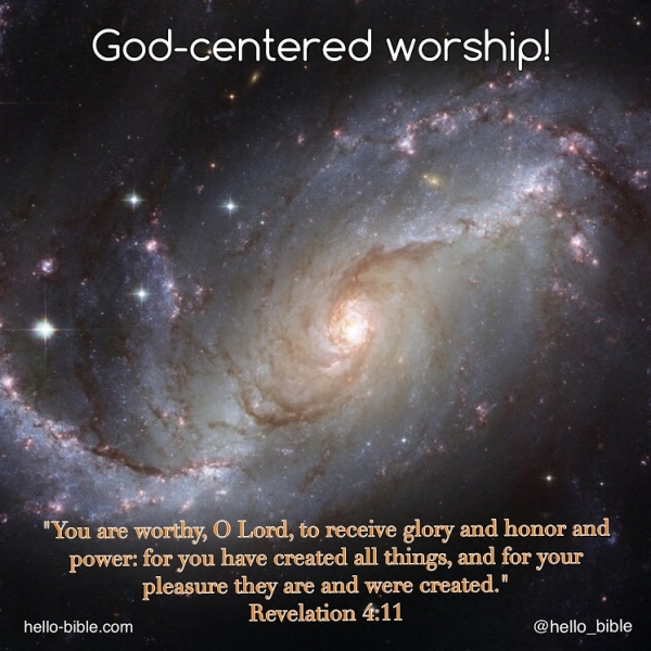 30. The perfect worship service * Revelation 4:9-11