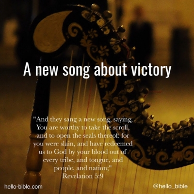 34. Singing a new song - PART 1 * Revelation 5:7-9
