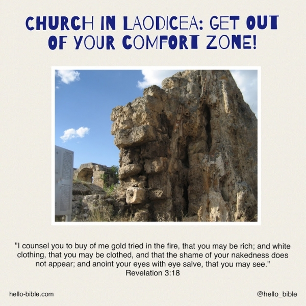 27. Church in Laodicea: tepid and wretched, but saved by grace * Revelation 3:14-22, Part 2 of 2