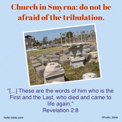 15. Church in Smyrna, losing the world and crowned with life * Revelation 2:8-11, Part 1 of 2