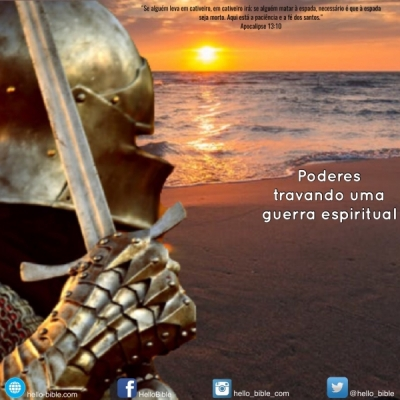 91. A besta que emerge do mar: guerreando contra as pessoas e quebrando a Lei de Deus * Apocalipse 13:7-10 - PARTE 6
