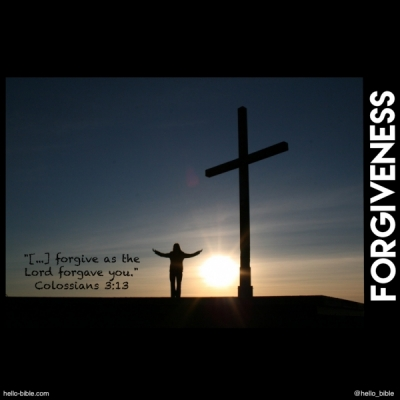 Forgiveness, a gift from God