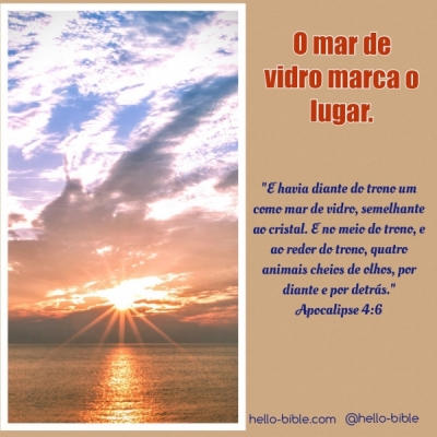 29. Ao redor do trono  * Apocalipse 4:5-8