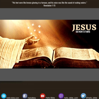 9. Jesus from head to toe * Revelation 1:12-20 , Part 2