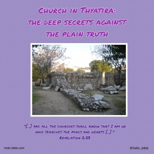 19. Church in Thyatira; fake is the new real * Revelation 2:18-29, Part 1 of 3