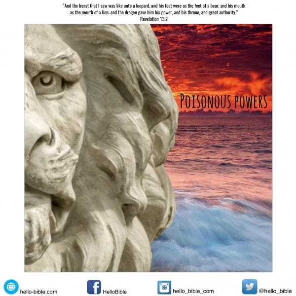89. The beast that comes out of the sea: has a boastful mouth * Revelation 13:2 - PART 4