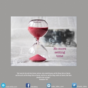 68. The little scroll: an oath about time * Revelation 10:1-7- Part 3 of 3