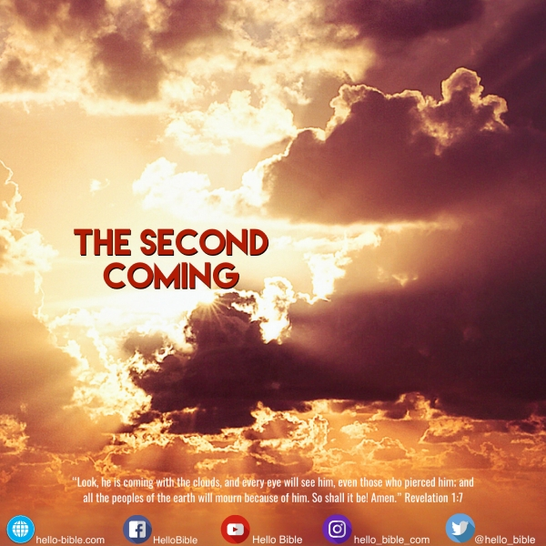 6. You just can't miss it! * Revelation 1:7-8